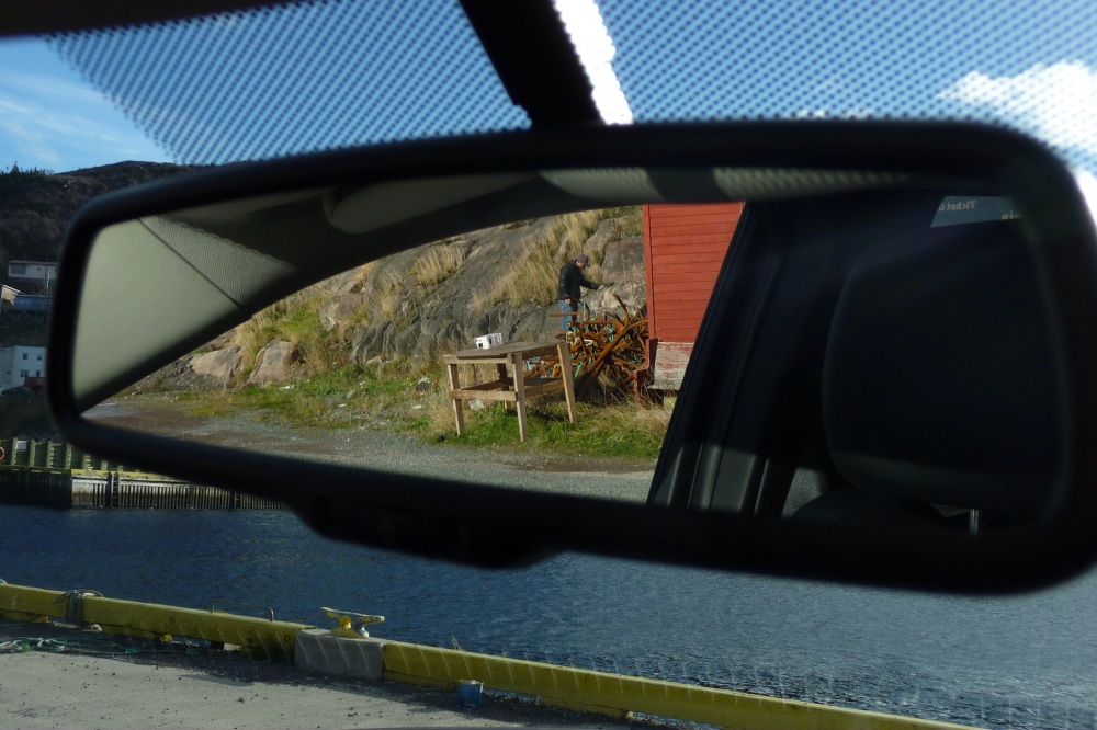 A Rear View Look At Dildo...Newfoundland (1/6)