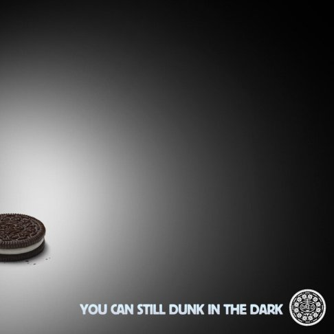 The Oreo team posted this on twitter shortly after.