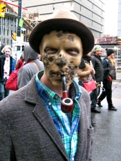 In Toronto, Zombies Walk in Support of The Heart and Stroke Foundation (Photo) - JOHNZEUS.COM