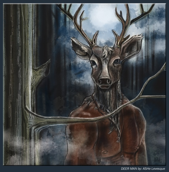 Deer Man by ASHe Levesque