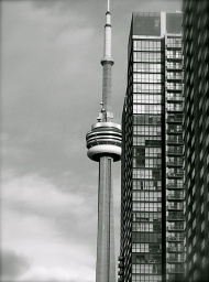 Toronto Condos and CN Tower